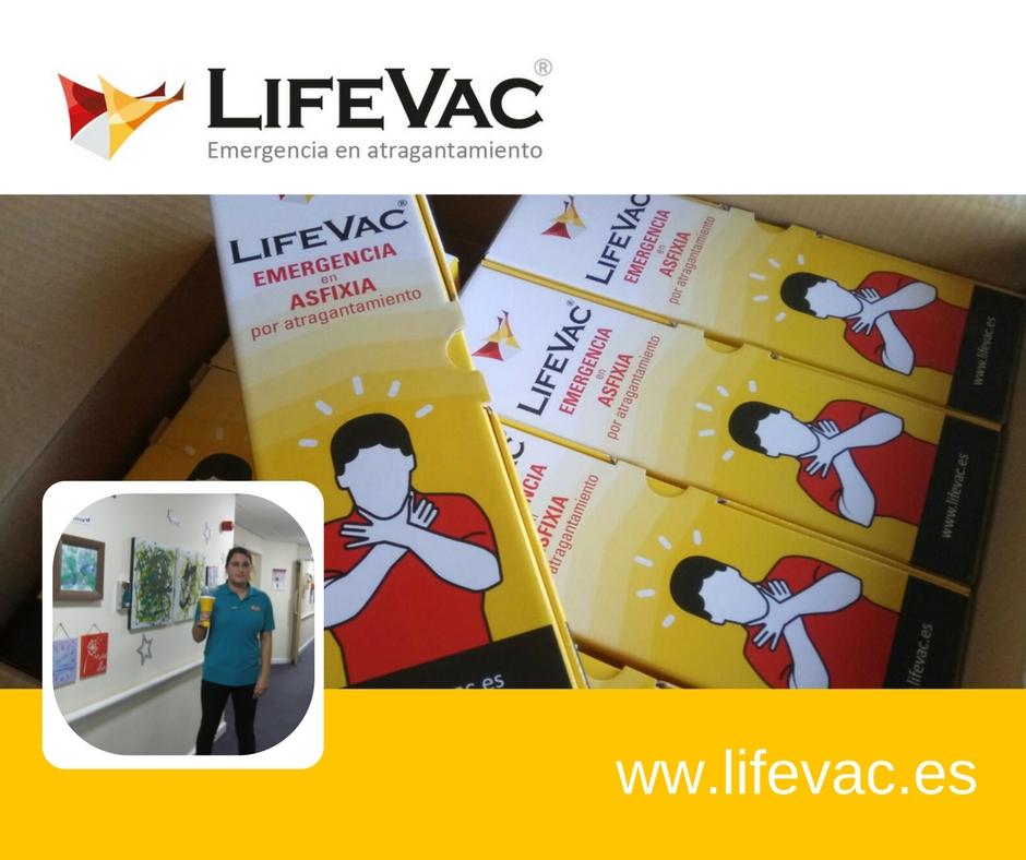 Se ha salvado una vida en Reino Unido con LifeVac antiatragantamiento