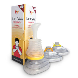 FOTO Dispositivo anti atragantamiento LIFEVAC