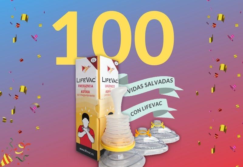 LIfeVac contra la Asfixia salva 100 vidas